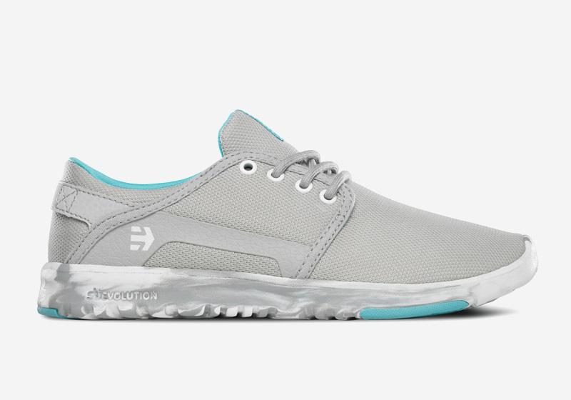 Etnies Scout – dámské tenisky, běžecké boty, šedé