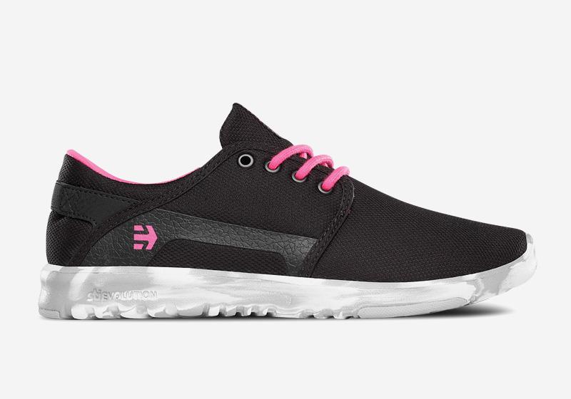 Etnies Scout – dámské boty, běžecké tenisky, černé
