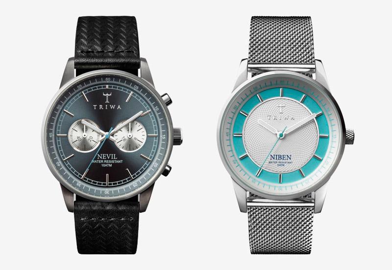 Triwa – hodinky – dámské a pánské – kolekce jaro/léto 2015