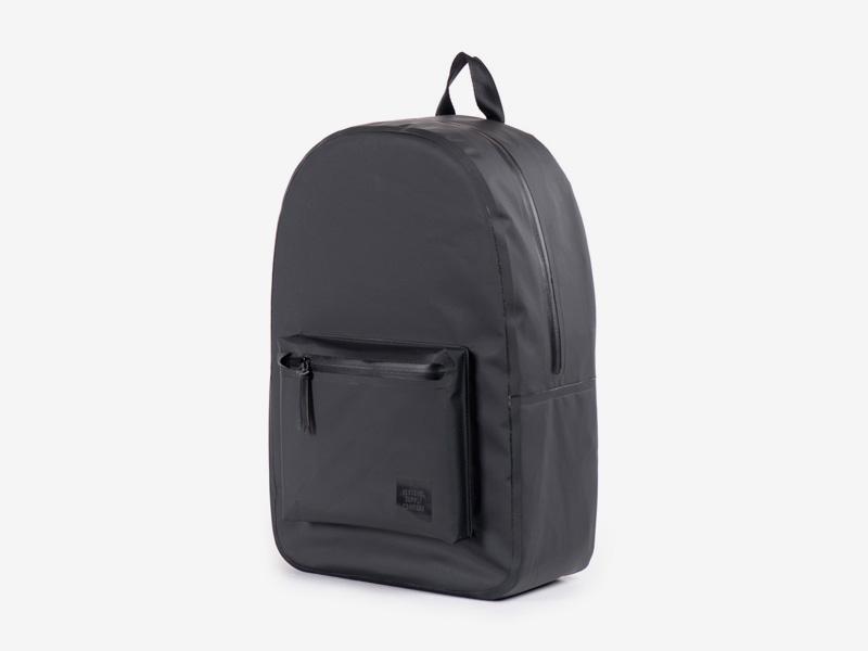 Herschel Supply Studio – batoh na záda, černý, voděodolný — vodotěsné zipy – Settlement Backpack
