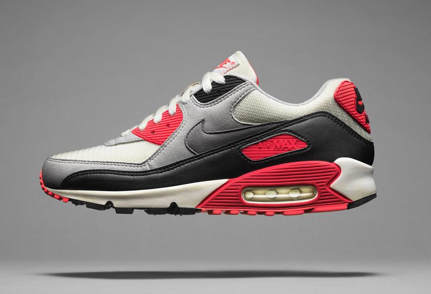 Nike Air Max 90, sneakers z roku 1990, ikonické boty – Masters of Max: Air Max Icons