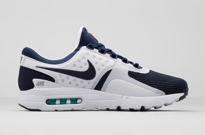 Nike Air Max Zero — bílo-modré Airmaxy, boty, tenisky, sneakers, dámské a pánské