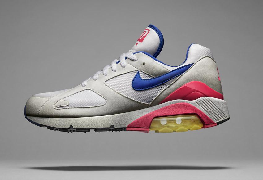 Nike Air Max 180, sneakers z roku 1991, ikonické boty – Masters of Max: Air Max Icons