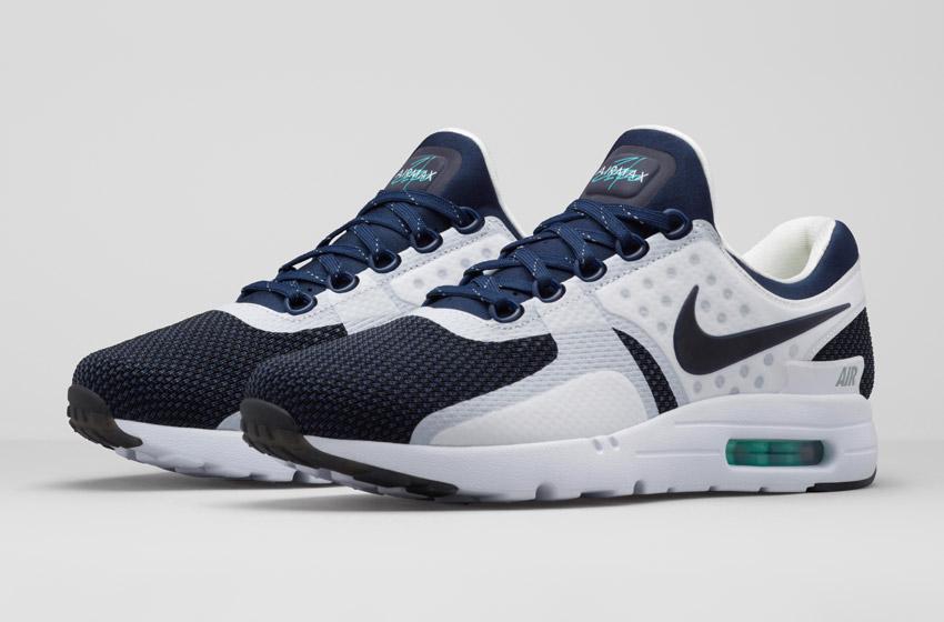 Nike Air Max Zero — tenisky, sneakers, bílé, modré, pánské a dámské
