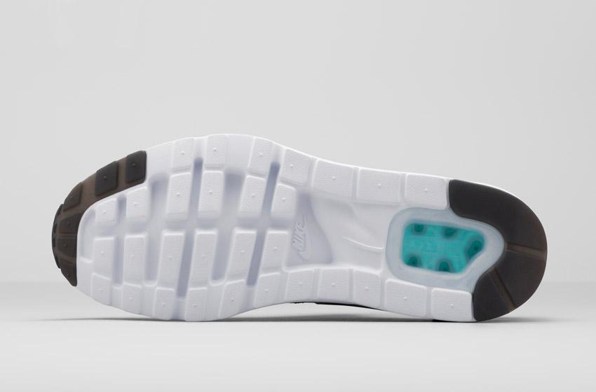 Nike Air Max Zero — podrážka, detail
