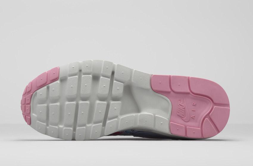 Nike Air Max 1 Ultra City – Paris – dámské boty – podrážka – sneakers