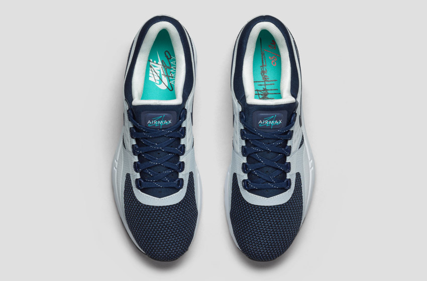 Nike Air Max Zero — horní pohled