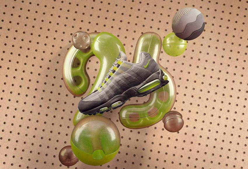 Nike Air Max 95, sneakers z roku 1995, ikonické boty – Masters of Max: Air Max Icons