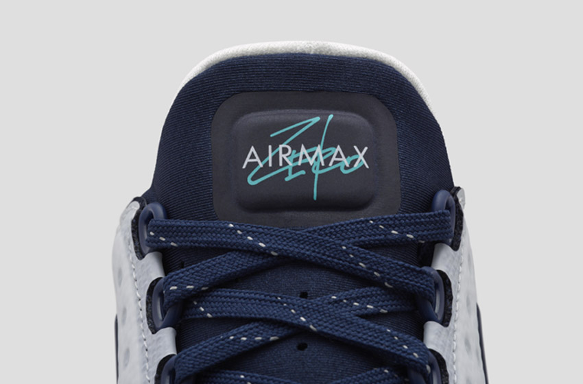 Nike Air Max Zero — detail jazyka