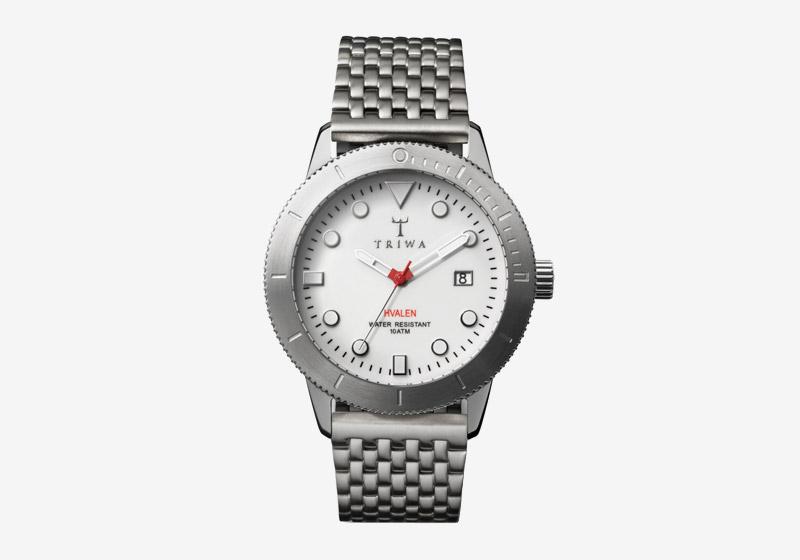 Triwa – dámské a pánské – hodinky – ocelové, bílý ciferník – Ivory Hvalen