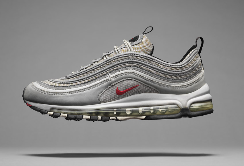 Nike Air Max 97, sneakers z roku 1997, ikonické boty – Masters of Max: Air Max Icons
