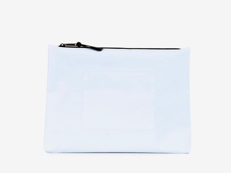 Herschel Supply Studio – bílá voděodolná aktovka, taštička na dokumenty – Folio Pouch XL