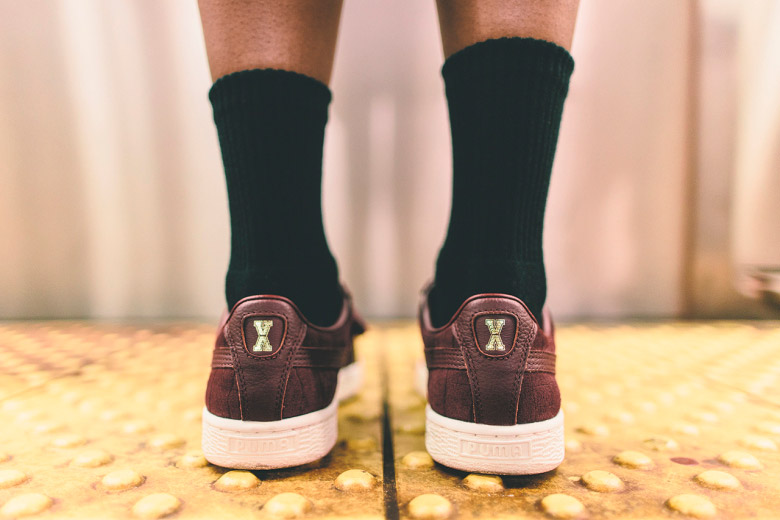 Puma x Vashtie – kolekce oblečení jaro/léto 2015 – vínové boty, tenisky