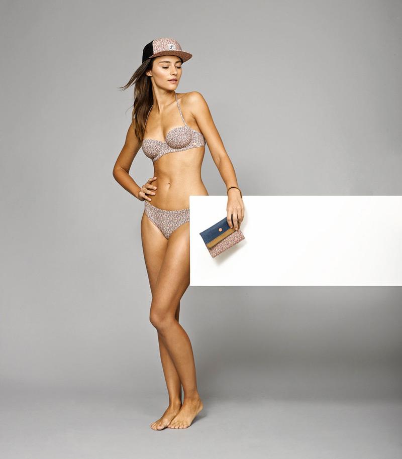 O'Neill x Liberty – dámské dvoudílné plavky se vzory, kšiltovka