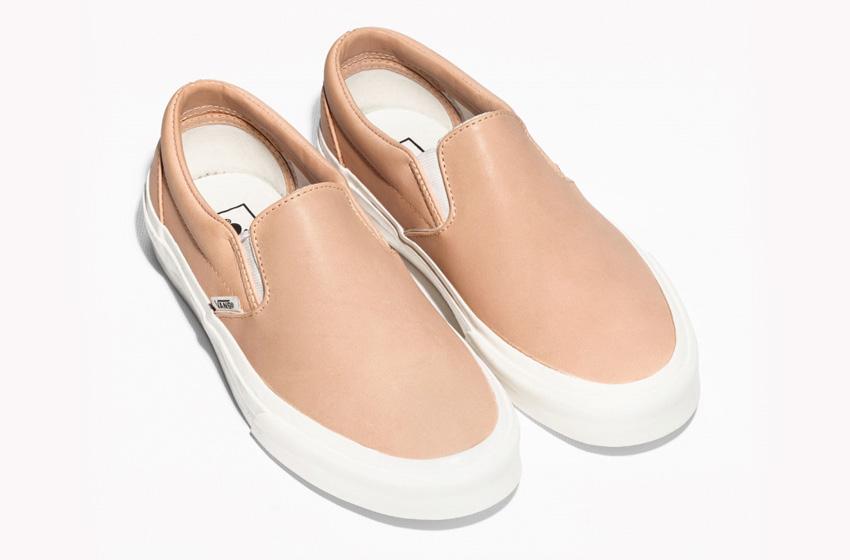 & Other Stories x Vans Slip-On – tenisky bez tkaniček, bílé se vzorem dalmatina kožené boty, sneakers