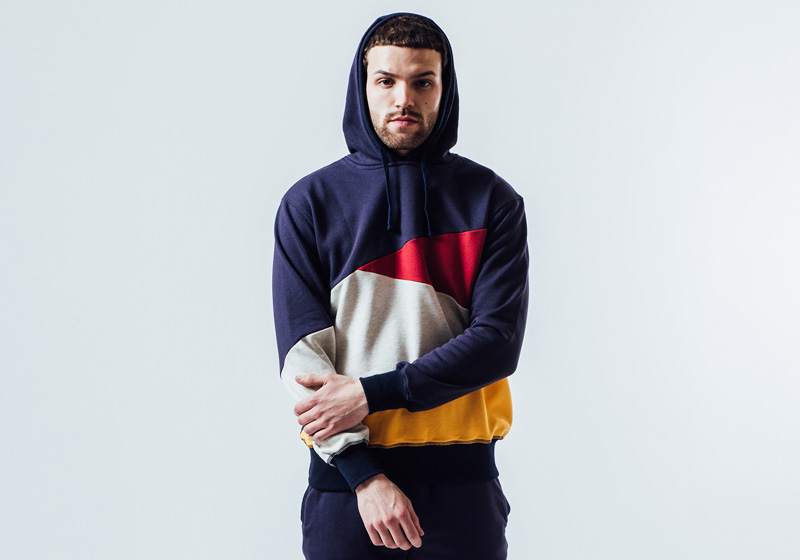 Unyforme — barevná mikina s kapucí – pánská — pánské trendy oblečení – jaro 2015