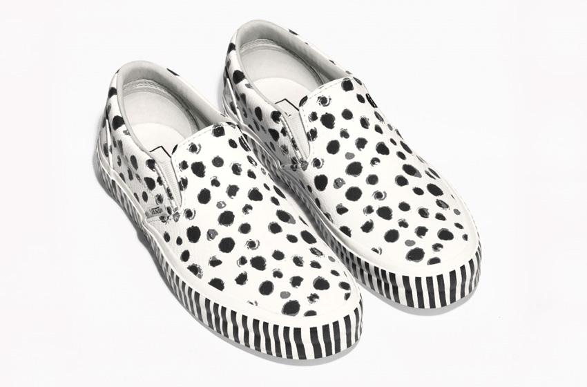 & Other Stories x Vans Old Skool – světle hnědé kožené boty, tenisky, sneakers