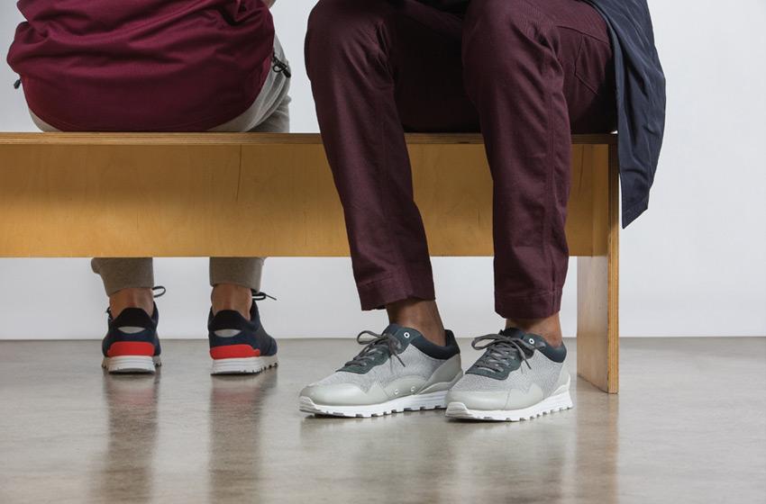 Clae — pánské a dámské boty Hoffman s běžeckou siluetou, lookbook