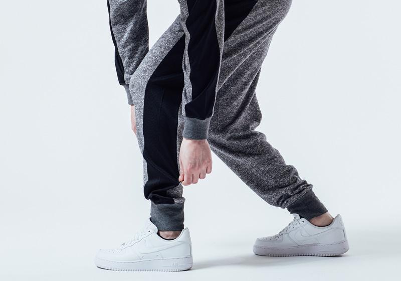 Unyforme — černo-šedé tepláky, pánské — pánské trendy oblečení – jaro 2015