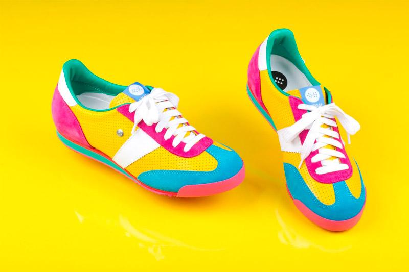 Botas 66 — Classic — Insane Remix — dámské barevné retro tenisky, nízké boty