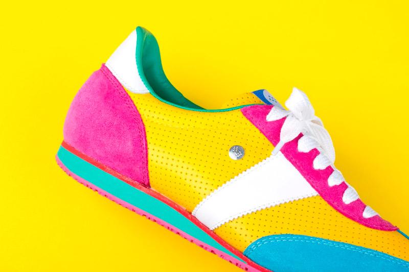 Botas 66 — Classic — Insane Remix — dámské barevné boty, dámské retro tenisky
