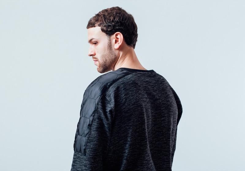 Unyforme — černá mikina, pánská — pánské trendy oblečení – jaro 2015