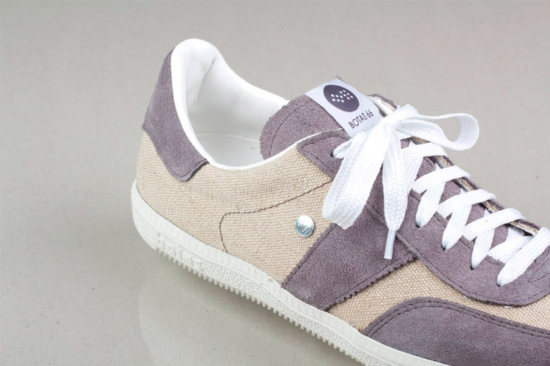 Botas 66 — Urban — Peace Out — retro boty z textilu a semiše, pánské, dámské