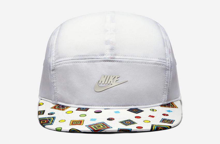 Nike Snapback Liberty Merlin — bílá kšiltovka se vzorem