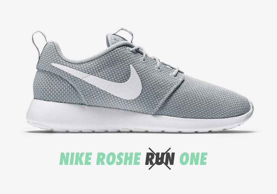Nike změnila název bot Roshe Run na Roshe One