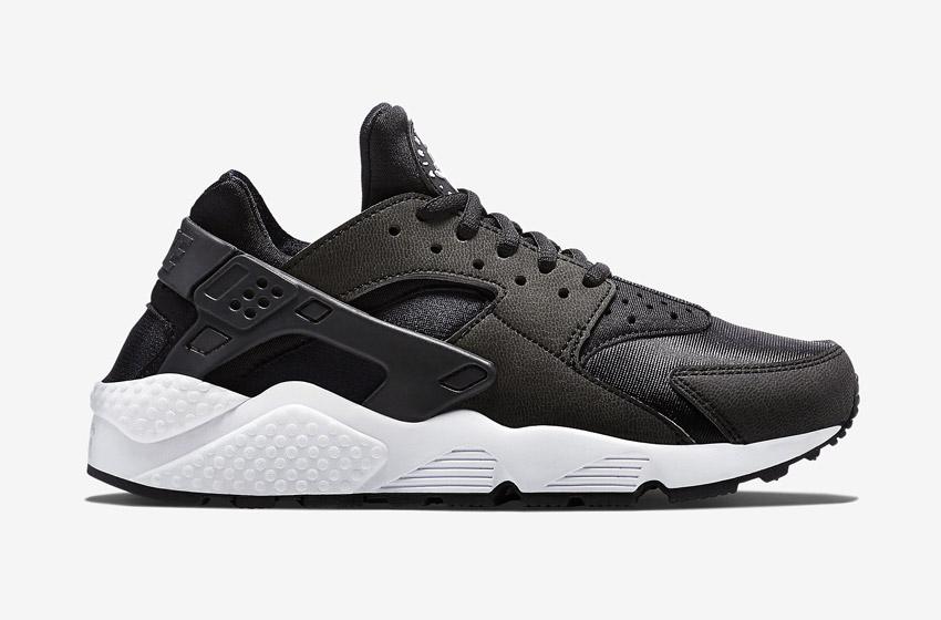 Nike Air Huarache – černé dámské boty, tenisky