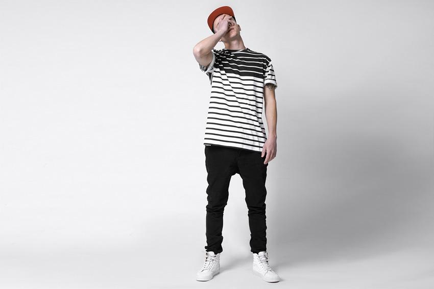 Lakenzie – černobílé pruhované tričko – oblečení jaro/léto 2015