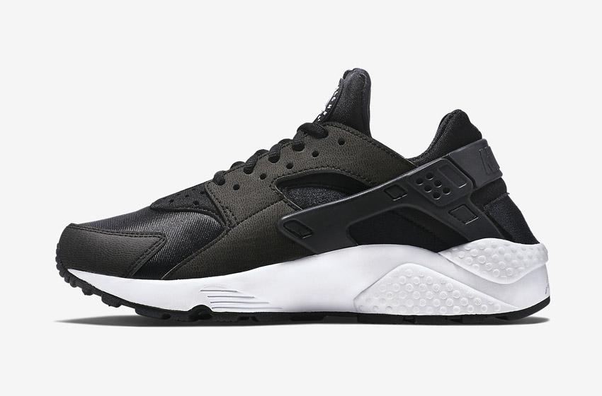 Nike Air Huarache – dámské sneakers, černé boty, tenisky