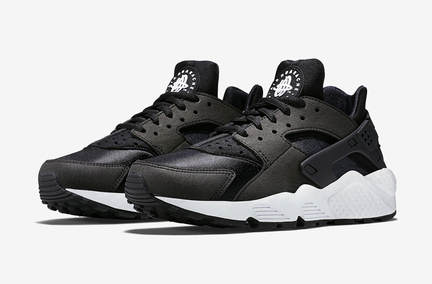Nike Air Huarache – černé dámské tenisky, boty, sneakers