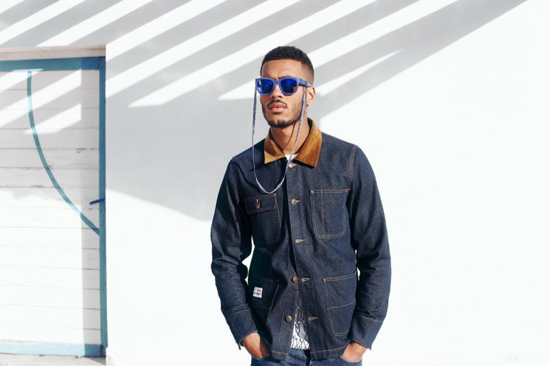 Daily Paper – pánská modrá jeansová (džínová) bunda – trendy oblečení jaro/léto 2015