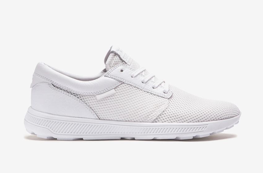 Boty Supra Hammer Run – běžecké tenisky, čistě bílé, dámské, pánské, sneakers,