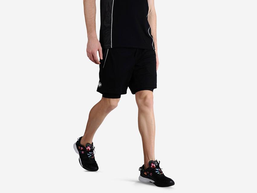 adidas – Roland Garros Y-3 – černé pánské sportovní šortky, sportovní šortky