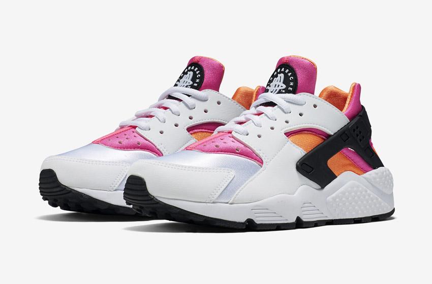 Nike Air Huarache – bílé dámské tenisky, boty, sneakers