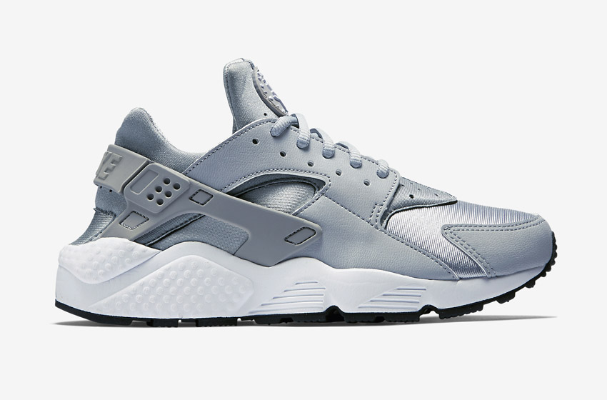 Nike Air Huarache – šedé dámské boty, tenisky