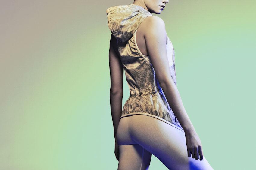Nike Tech Hyperfuse Vest – dámská běžecká vesta, puntíkový vzor, dots – 2015