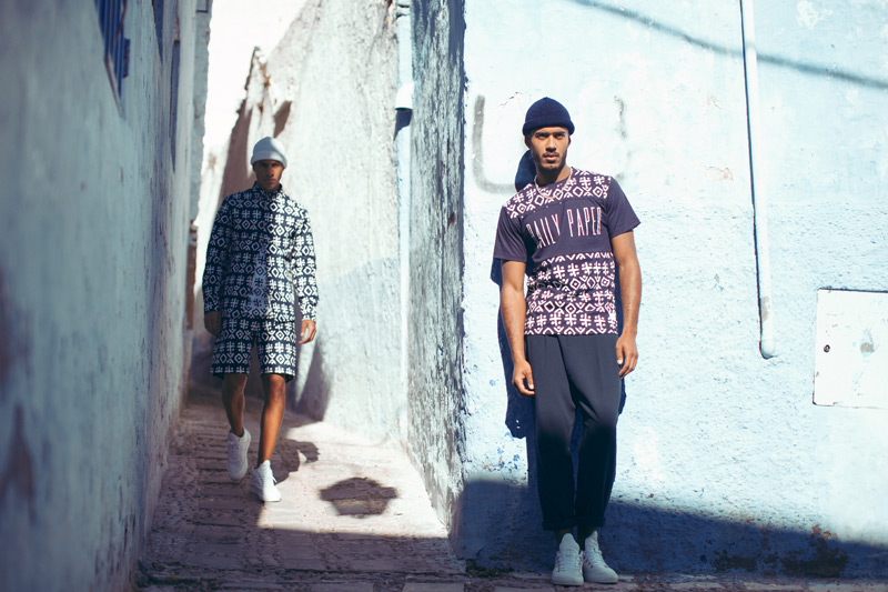Daily Paper – pánská košile, šortky, třičko, marocké symboly – trendy oblečení jaro/léto 2015