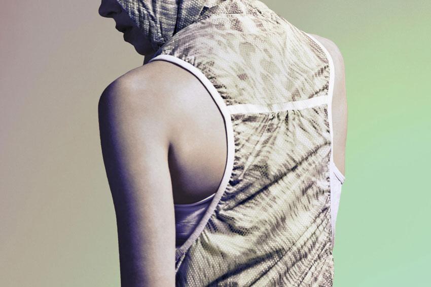 Nike Tech Hyperfuse Vest – dámská sportovní vesta s puntíky, dots – 2015