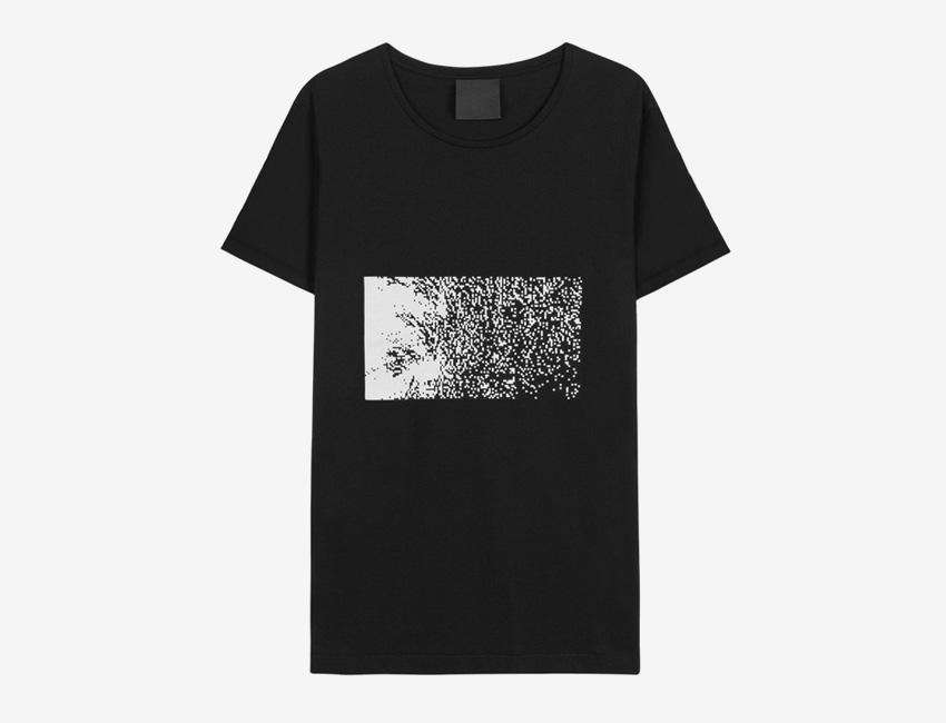 Trinitas – Volume IX – pánské dlouhé černé tričko s potiskem, bitmapa