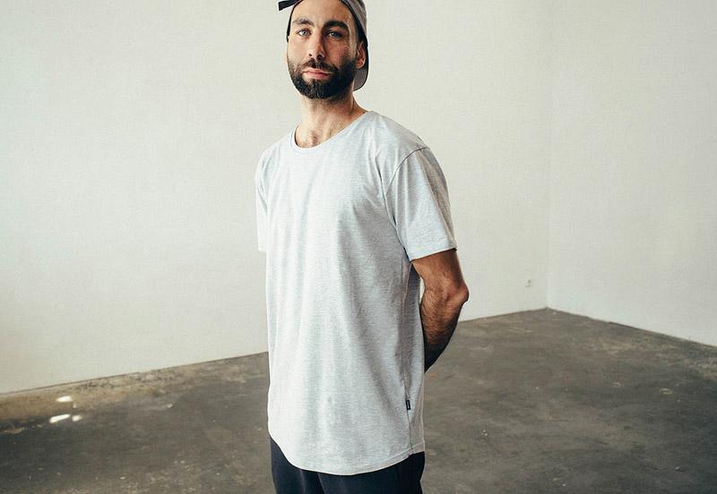 Zirkus Zirkus – šedé (šedý melír) tričko – oblečení – jaro/léto 2015