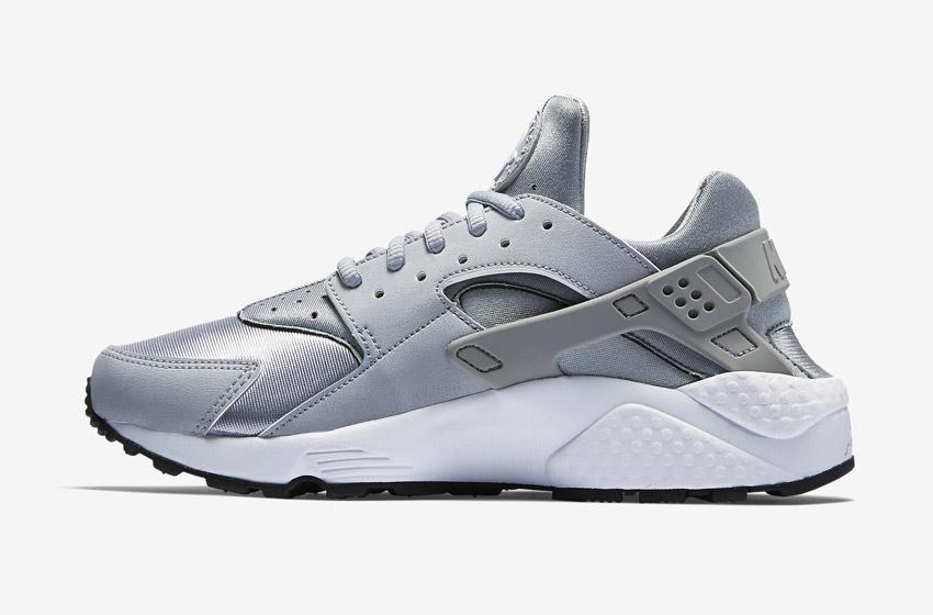 Nike Air Huarache – dámské sneakers, šedé boty, tenisky