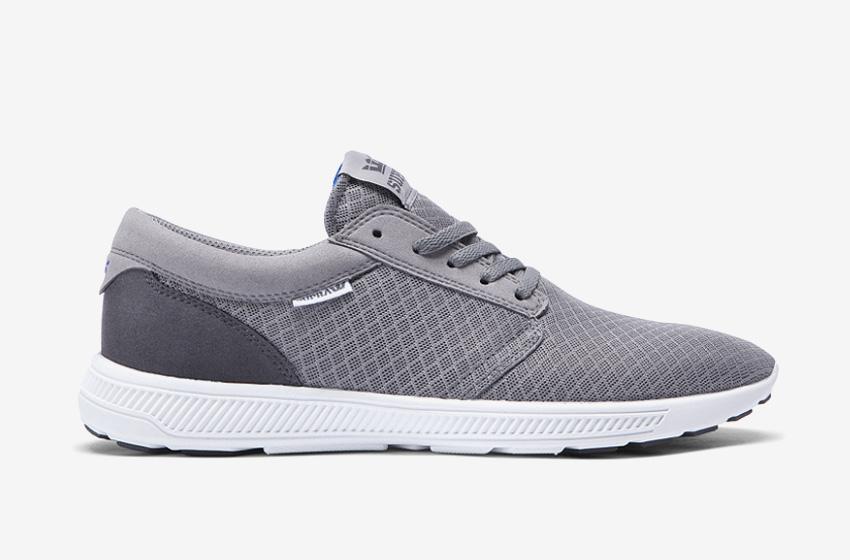 Boty Supra Hammer Run – běžecké tenisky, šedé, dámské, pánské, sneakers,