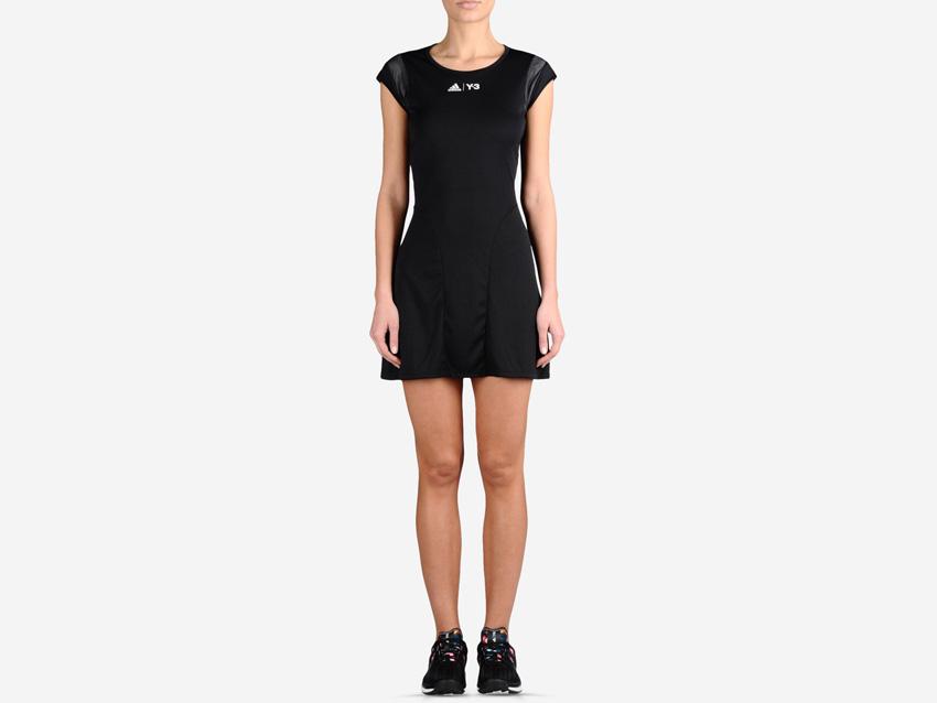adidas – Roland Garros Y-3 – černé dámské tenisové šaty, sportovní šaty