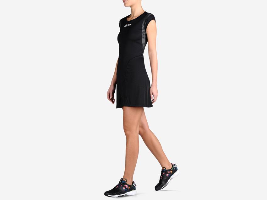 adidas – Roland Garros Y-3 – dámské černé tenisové šaty, sportovní šaty