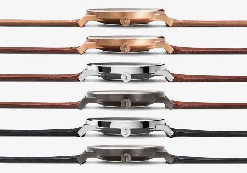 Hodinky Triwa – Falken – kožené řemínky, ocelová pouzdra