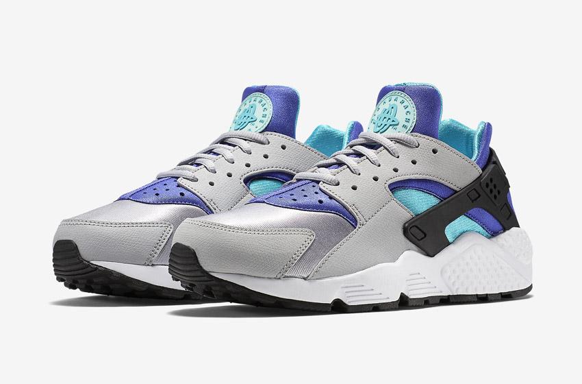 Nike Air Huarache – šedé dámské tenisky, boty, sneakers