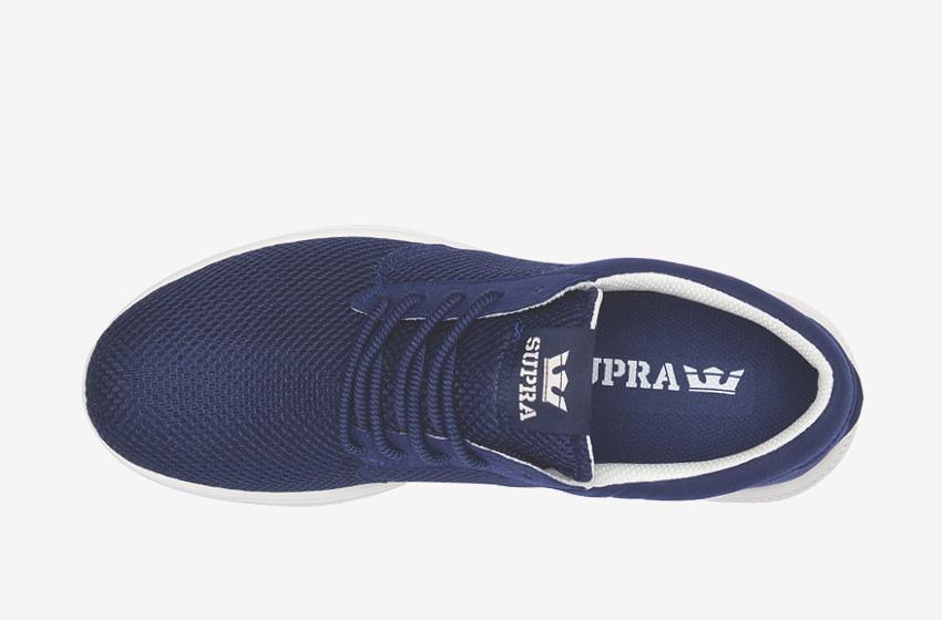 Boty Supra Hammer Run – běžecké, tenisky, dámské, pánské, modré, sneakers, horní pohled